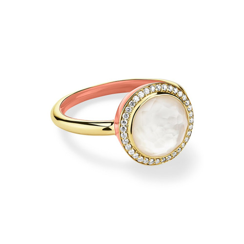 Carnevale Ring in 18K Gold with Diamonds GR820DFMDICP