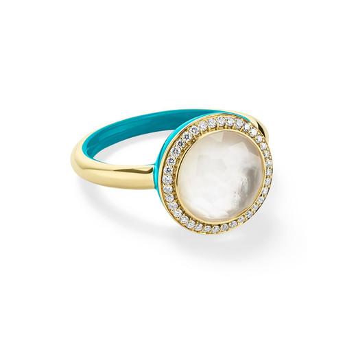 Carnevale Ring in 18K Gold with Diamonds GR820DFMDITU