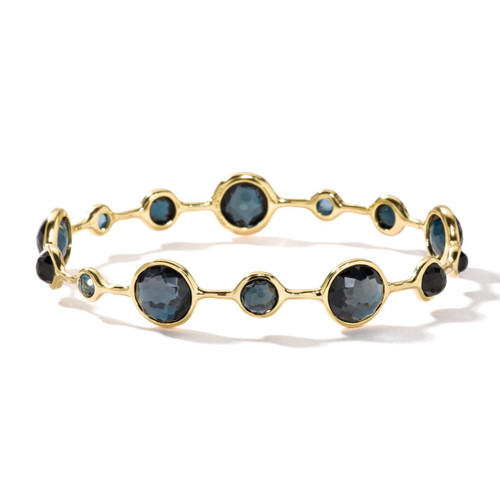 Open Bangle in 18K Gold GB363LBT-PA