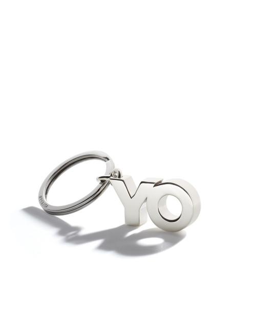 OY/YO Key Ring in Sterling Silver KEY13