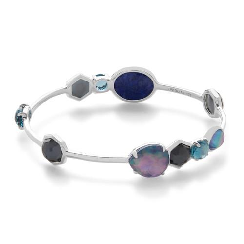 Gelato Multi Stone Bangle Bracelet in Sterling Silver SB1218ECLIPSE