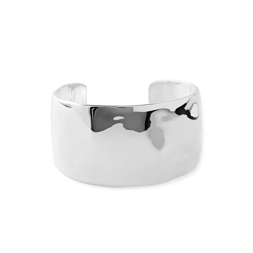 Wide Cuff Bracelet in Sterling Silver SB1244