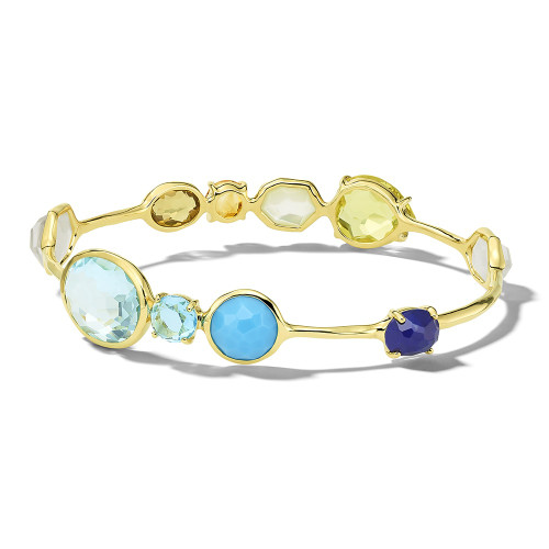Gelato Station Bangle in 18K Gold GB486OASIS