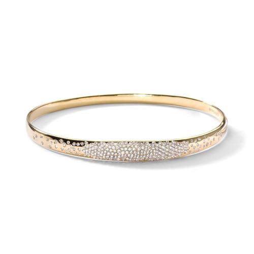 Bangle in 18K Gold with Diamonds GB512DIA