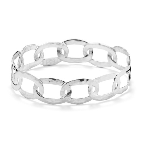 Roma Links Bangle in Sterling Silver SB634