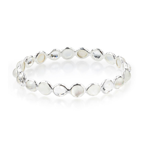 All Around Bangle Bracelet in Sterling Silver SB935FLIRT