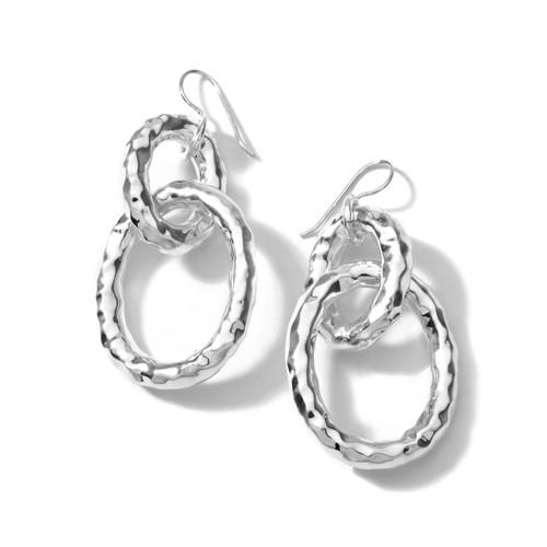 Bastille Link Earrings in Sterling Silver SE016