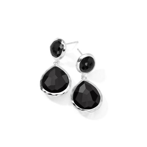 2-Stone Earrings in Sterling Silver SE114NX