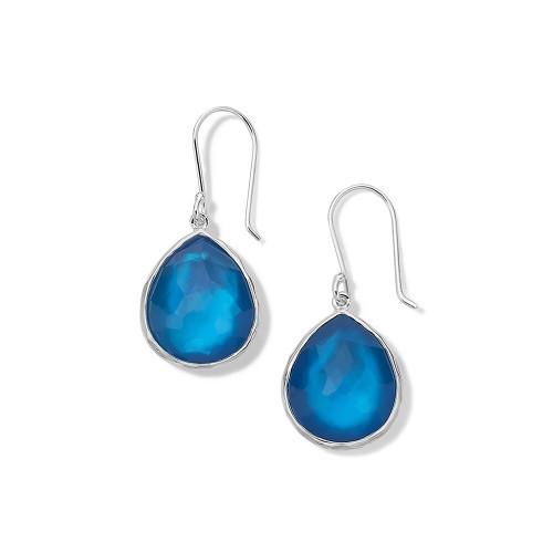 Small Teardrop Earrings in Sterling Silver SE118DFADRIATIC
