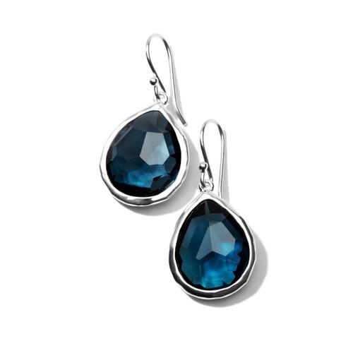 Small Teardrop Earrings in Sterling Silver SE118LBT