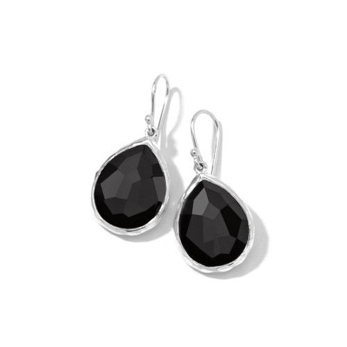 Small Teardrop Earrings in Sterling Silver SE118NX