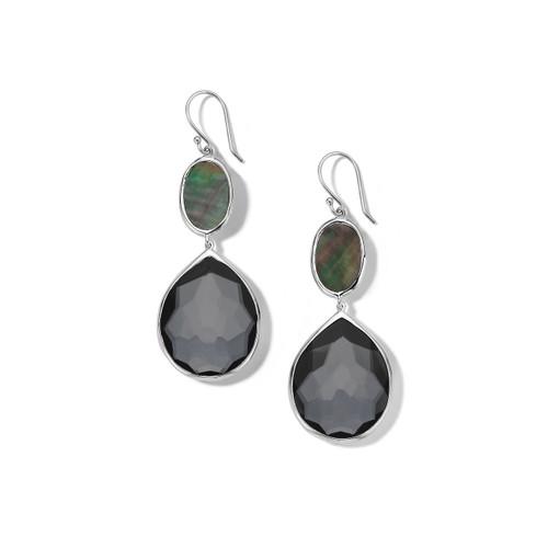 Teardrop Earrings in Sterling Silver SE1540DFHEMBKL