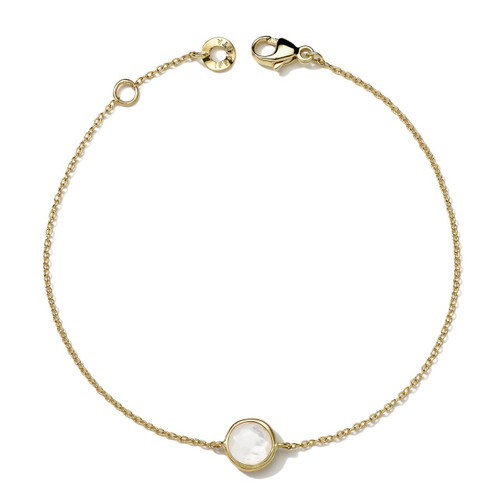 Mini Bracelet in 18K Gold GB608MOP
