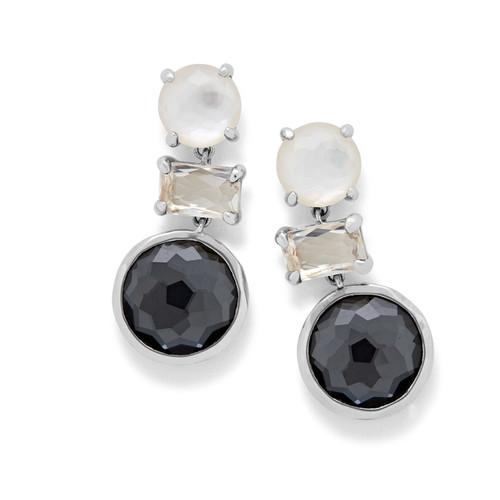 Drop Earrings in Sterling Silver SE1837PIAZZA