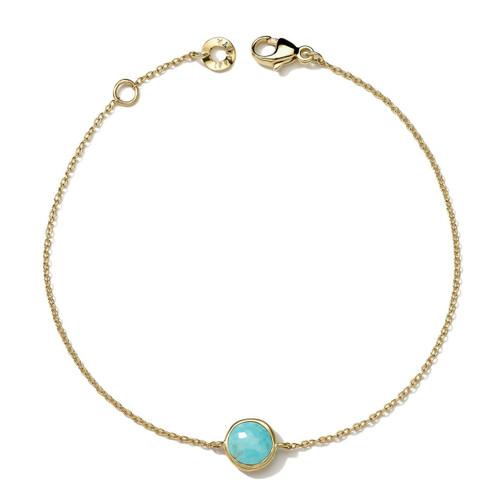 Mini Bracelet in 18K Gold GB608TQ-PA