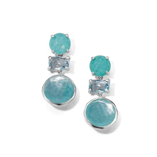 Drop Earrings in Sterling Silver SE1837WATERFALL