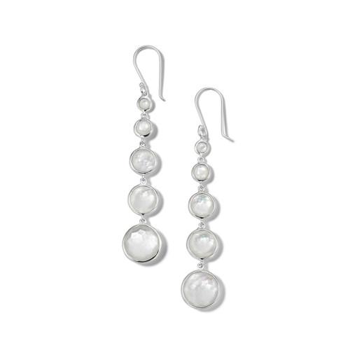 Lollitini 5-Stone Drop Earrings in Sterling Silver SE2106DFMOPMOP