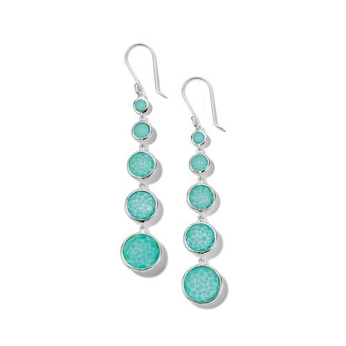 Lollitini 5-Stone Drop Earrings in Sterling Silver SE2106DFTQTQ