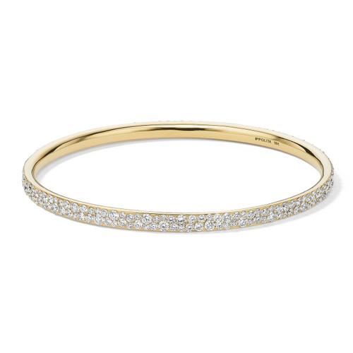 Bangle in 18K Gold with Diamonds GB764DIA-SB-PA