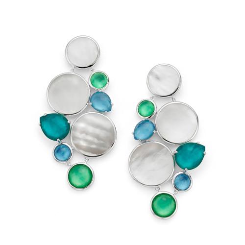 Chandelier Earrings in Sterling Silver SE2273ATLANTIC