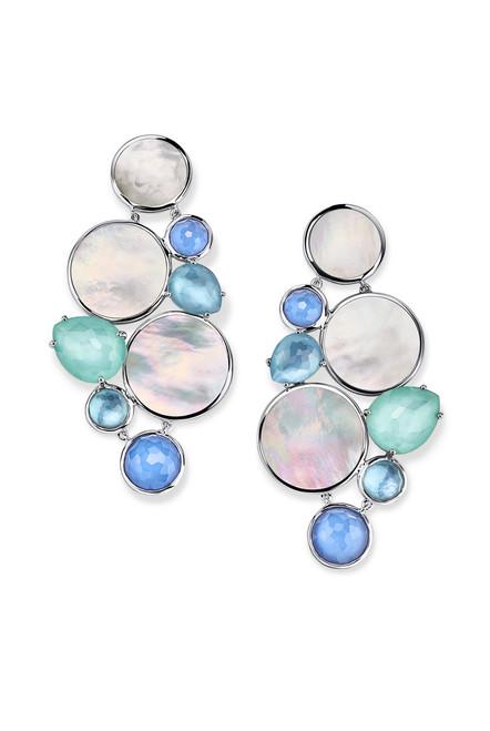 Chandelier Earrings in Sterling Silver SE2273BRAZBLUE