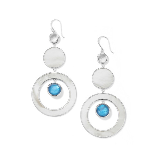 Drop Earrings in Sterling Silver SE2311DELFT