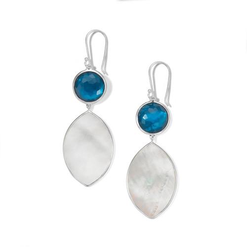 Drop Earring in Sterling Silver SE2316DFLAGOOMOP