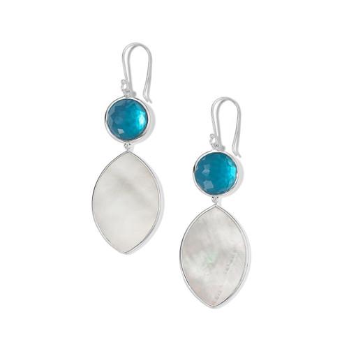 Drop Earring in Sterling Silver SE2316DFMALIBMOP