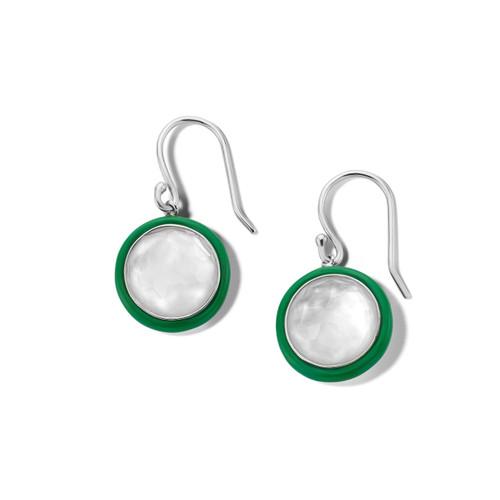 Carnevale Drop Earrings in Sterling Silver SE2360DFMOPEG