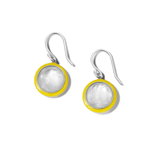 Carnevale Drop Earrings in Sterling Silver SE2360DFMOPIY