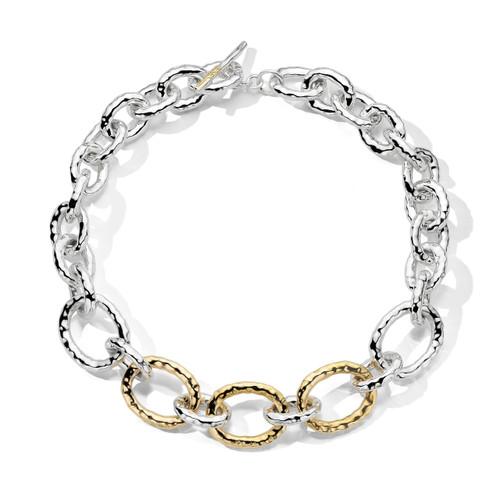 Short Hammered Bastille Necklace in Chimera SGN1716