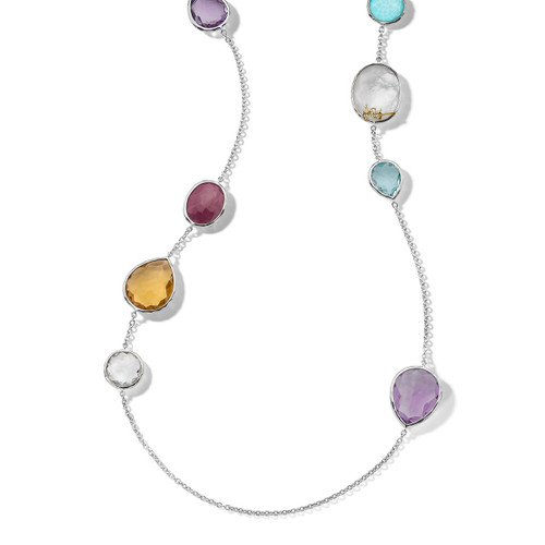 Gelato Necklace in Sterling Silver SN047MULTI2