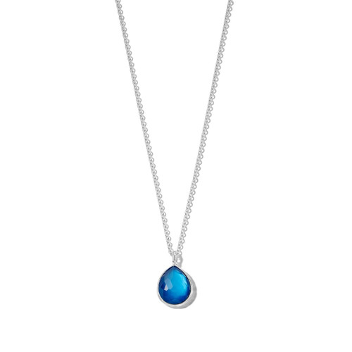Small Pendant Necklace in Sterling Silver SN091DFADRIATIC