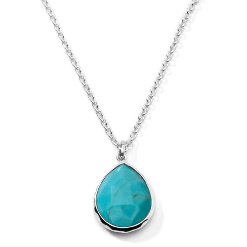 Small Pendant Necklace in Sterling Silver SN091TQ