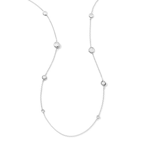 Station Necklace in Sterling Silver SN126CQ