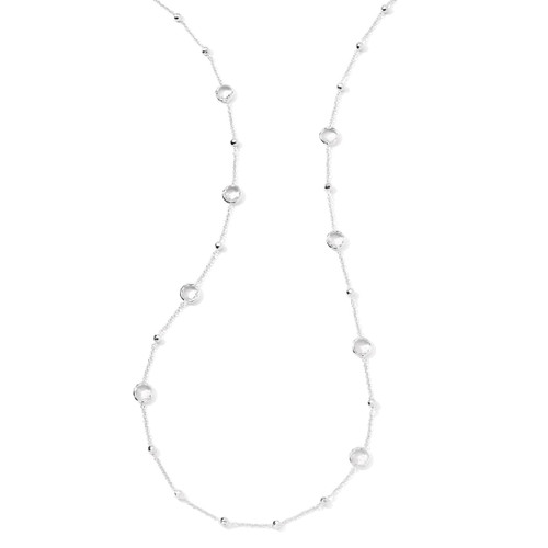 Multi Station Necklace in Sterling Silver SN143CQ