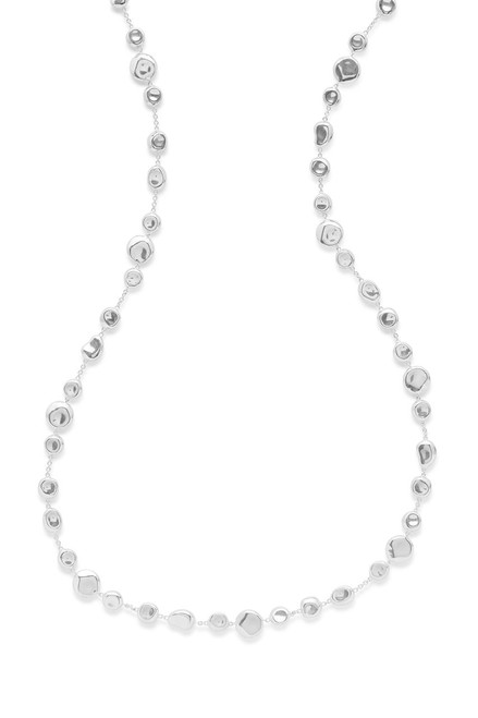 Mixed Shapes Necklace in Sterling Silver SN1467