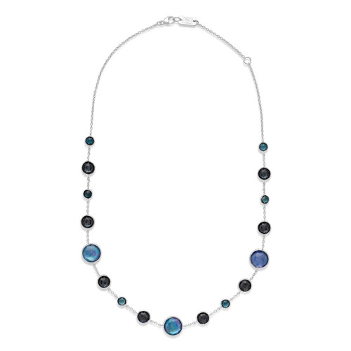 Lollitini Short Necklace in Sterling Silver SN1572X18ECLIPSE