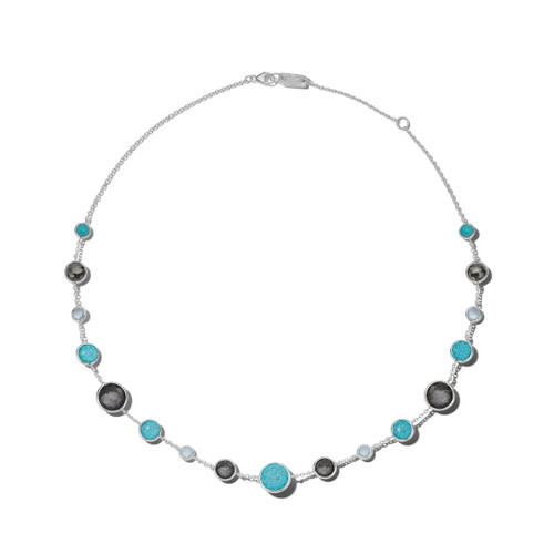 Lollitini Short Necklace in Sterling Silver SN1572X18MARITIM