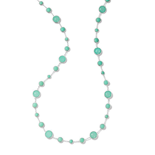 Lollitini Long Necklace in Sterling Silver SN1572X36DFTQTQ