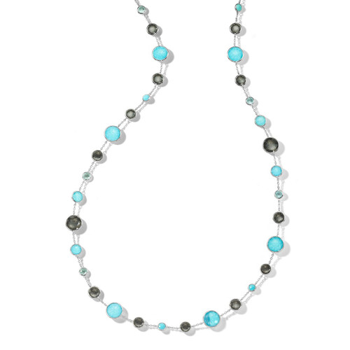 Lollitini Long Necklace in Sterling Silver SN1572X36MARITIM