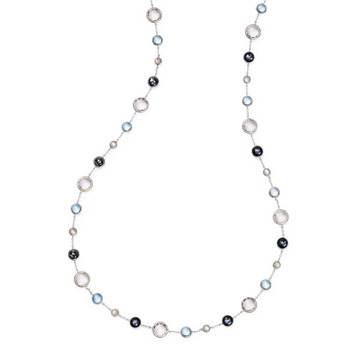 Lollitini Long Necklace in Sterling Silver SN1572X36WINTERS