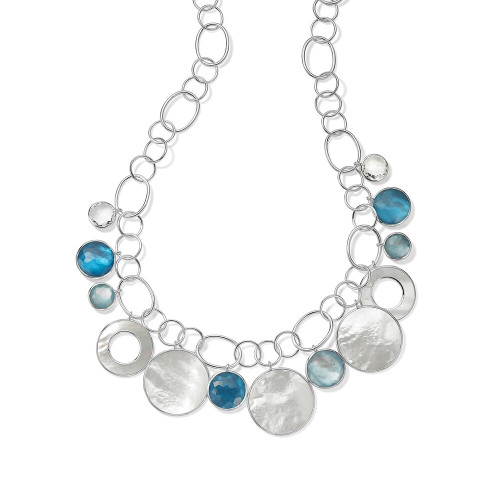 Chain Link Necklace in Sterling Silver SN1687DELFT