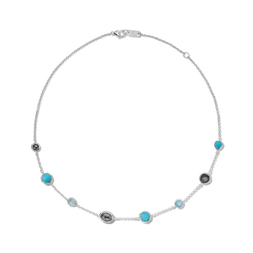 Mini Station Necklace in Sterling Silver SN383MARITIME