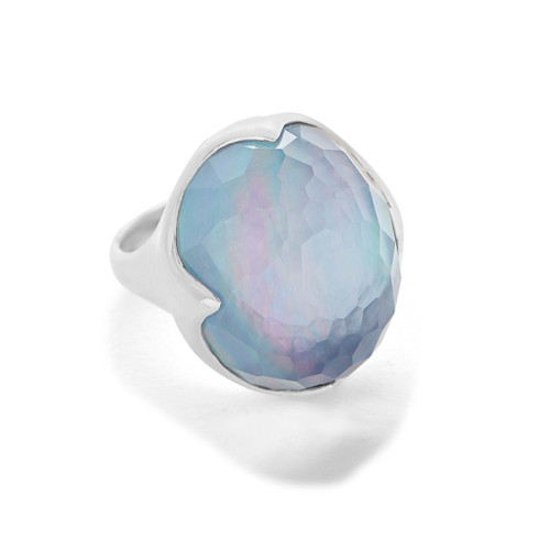 Prince Ring in Sterling Silver SR886TFCQMOPLP