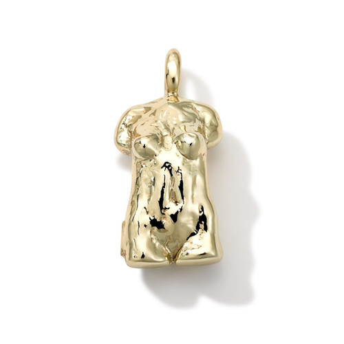 Online Exclusive Statuesque Charm in 18K Gold GC085-PA