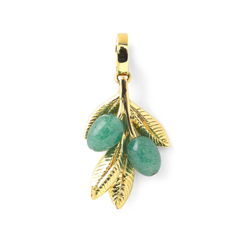 Online Exclusive Olive Charm in 18K Gold GC157-SB