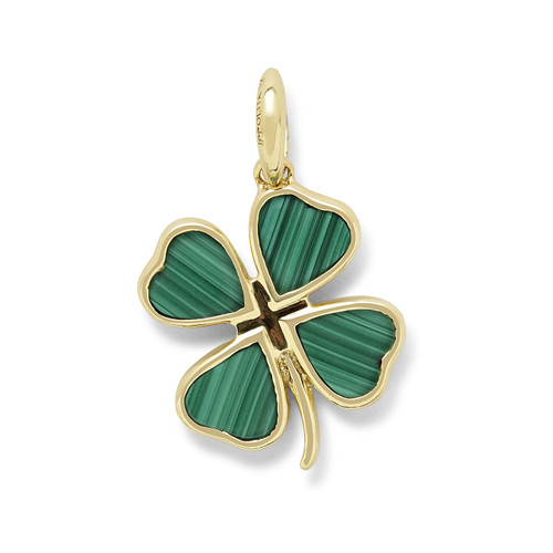 Online Exclusive Four-Leaf Clover Charm in 18K Gold GC197ML