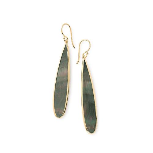Long Drop Earrings in 18K Gold GE1568BKL