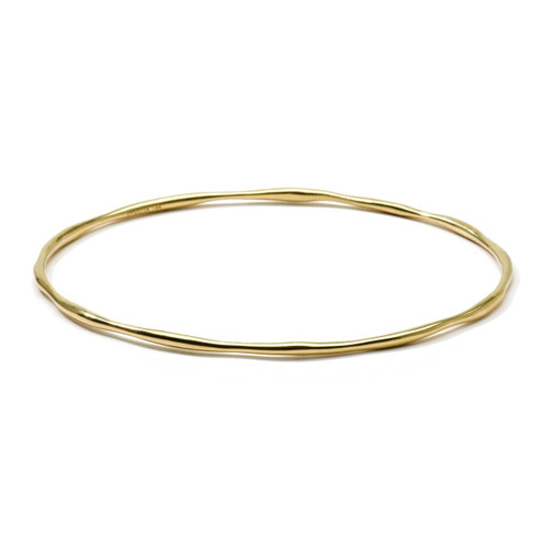 Squiggle Bangle in 18K Gold GB101A